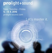 prolight+sound 2016 Artikelbild